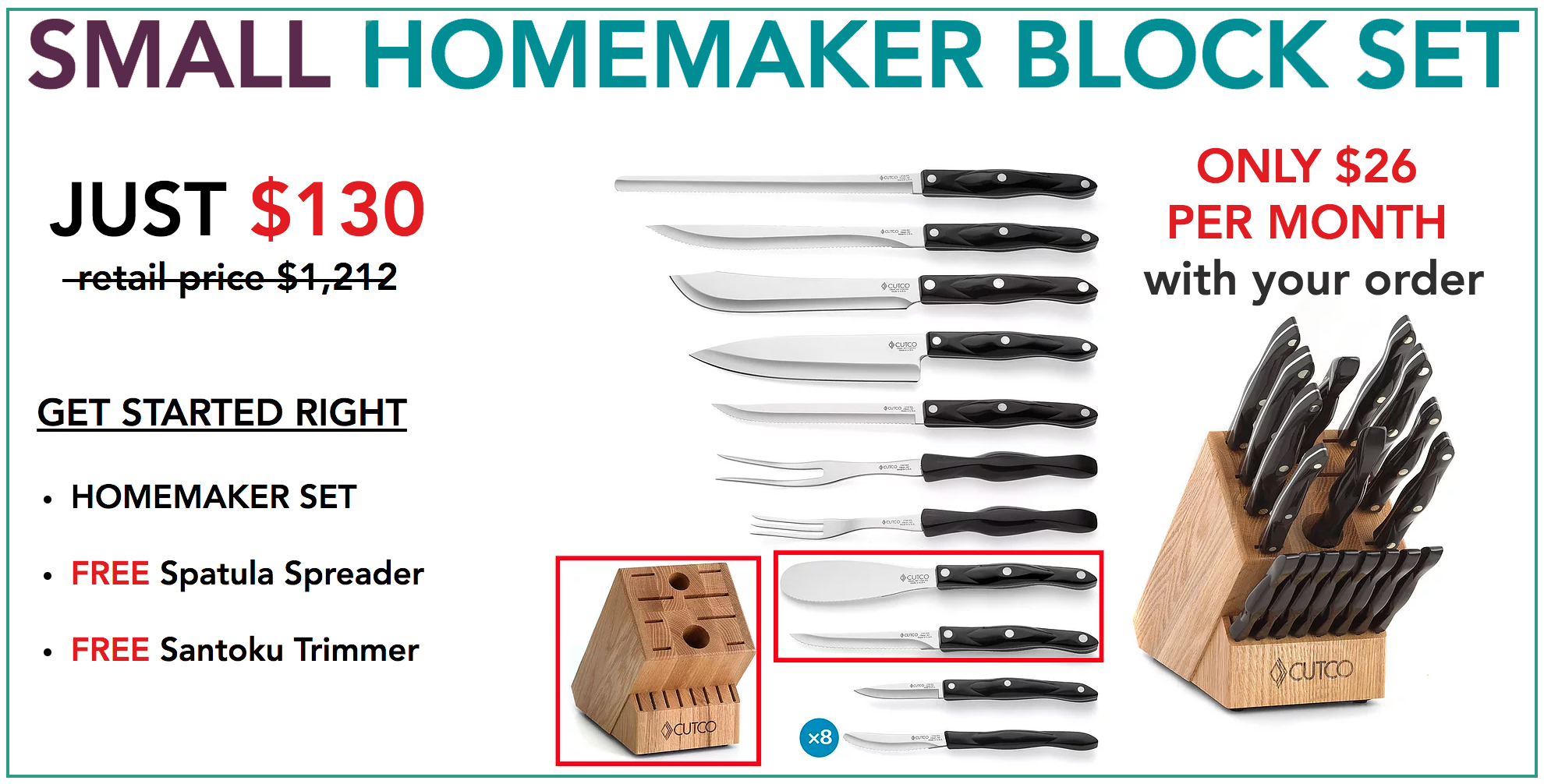 Homemaker Block Set